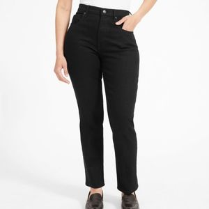 Everlane | NWT straight leg crop in black